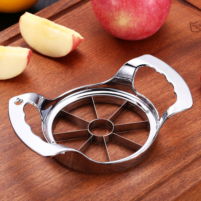Currently Available Direct Selling Fruit Slicer Zinc Alloy Apple Splitter Kitchen Gadgets Apple Slicer