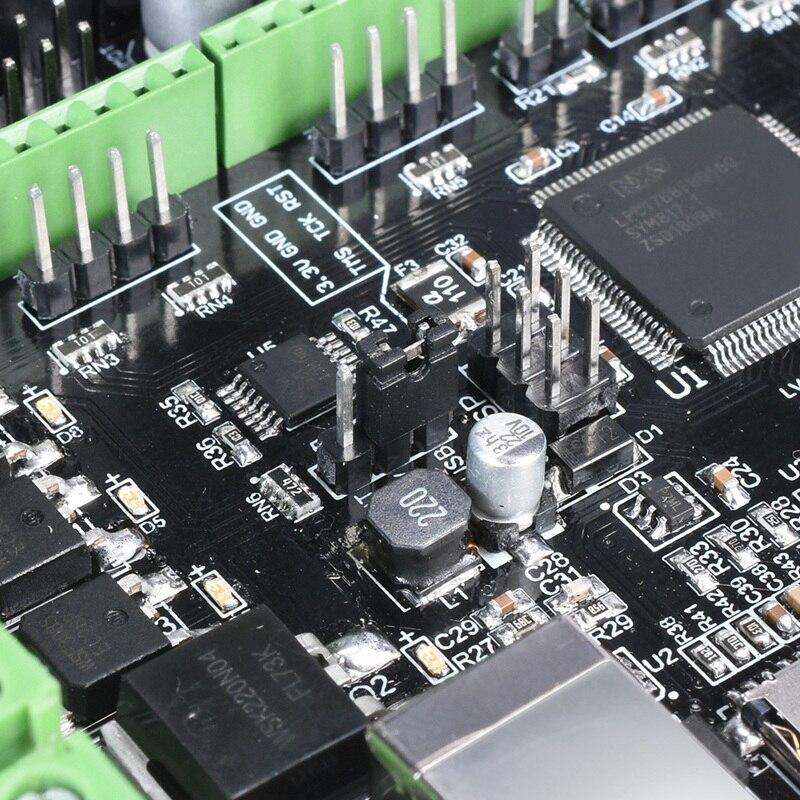 Bigtreetech Skr V1.1 + Tft3.5 + Tmc2130 carte de contrôle avec Arm Cpu carte de contrôle 32 bits logiciel de lisibilité Open Source pour imprimante 3D - 6