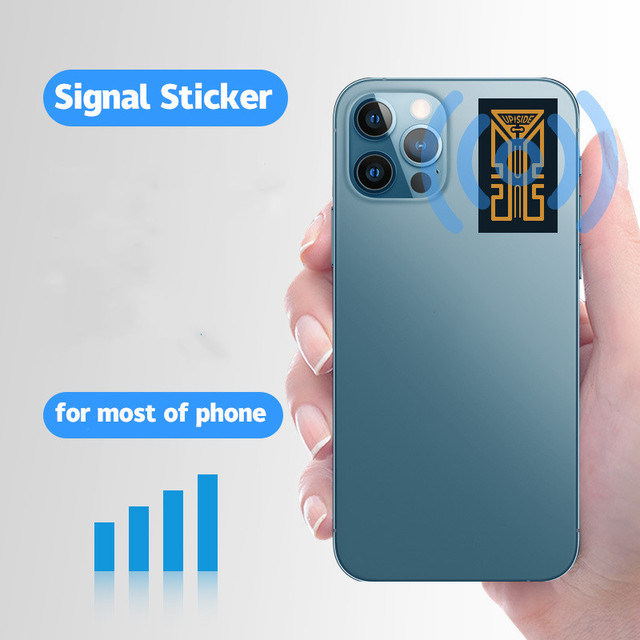 2G 3G 4G Portable Phone Antenna Stickers for Camping Cell Phone Signal Enhancement Signal Amplifier Booster Easy to install