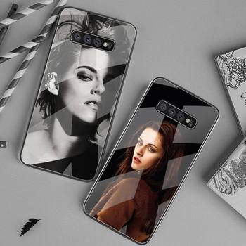 kristen stewart Phone Case Tempered Glass For Samsung S20 Plus S7 S8 S9 S10 Plus Note 8 9 10 Plus