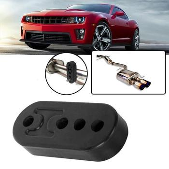 Universal 4 Holes Muffler Insulator Hanger Car Exhaust Tail Accessories Bracket Toyota Auto Audi Pipe Mount For VW Han T5F5 image