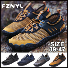 FZNYL Outdoor Men Shoes Quick Dry Sneakers Water Sports Aqua Seaside Beach Surfing Slippers Yoga Socks Diving Zapatos de mujer