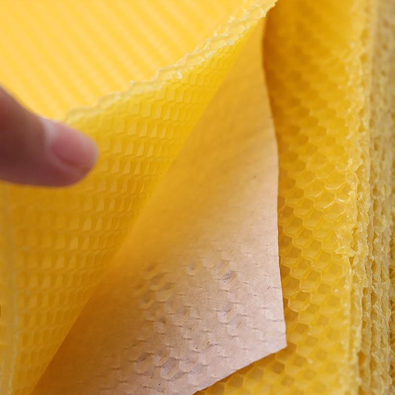 10pcs Honeycomb Bee Wax Foundation Beehive Frames Base Sheet Comb Honey Frame