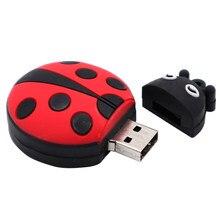 Mini pendrive 4gb 8gb 16gb 32gb joaninha cle usb 2.0 pen drive usb pen drive pen drive usb