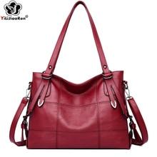 Luxury Brand Big Handbag Women Fashion Ladies Hand Bags Soft Leather Crossbody for New Elegant Shoulder Bag Sac