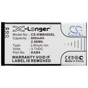 Image 1 - Cameron Sino 800mAh Battery for Maxcom MM720, MM720BB, KAB4, KAB4 AAABA005026 For KAZAM Life B4