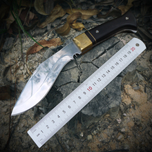 D2 Stainless Steel Fixed-Blade Knife High Hardness Outdoor Defense Jungle Survival Sharp Tactical Knife With Sheath