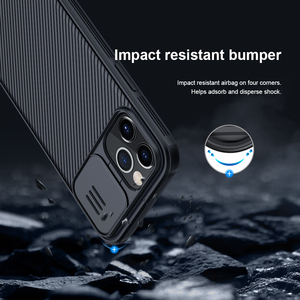 Image 5 - for Apple iPhone 12 Pro Max Phone Case,NILLKIN Camera Protection Slide Protect Cover Lens Protection Case for iPhone 12 Mini 5G