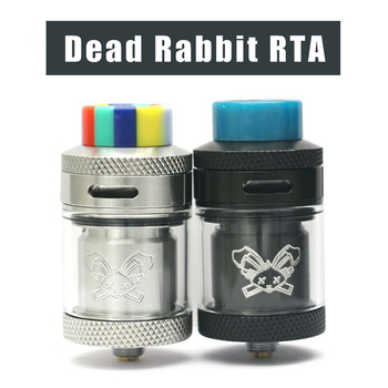 New stock Dead Rabbit RTA  2ML/4.5ML Atomizer Tank Electronic cigarette Dual Coil Rebuild Vaporizer
