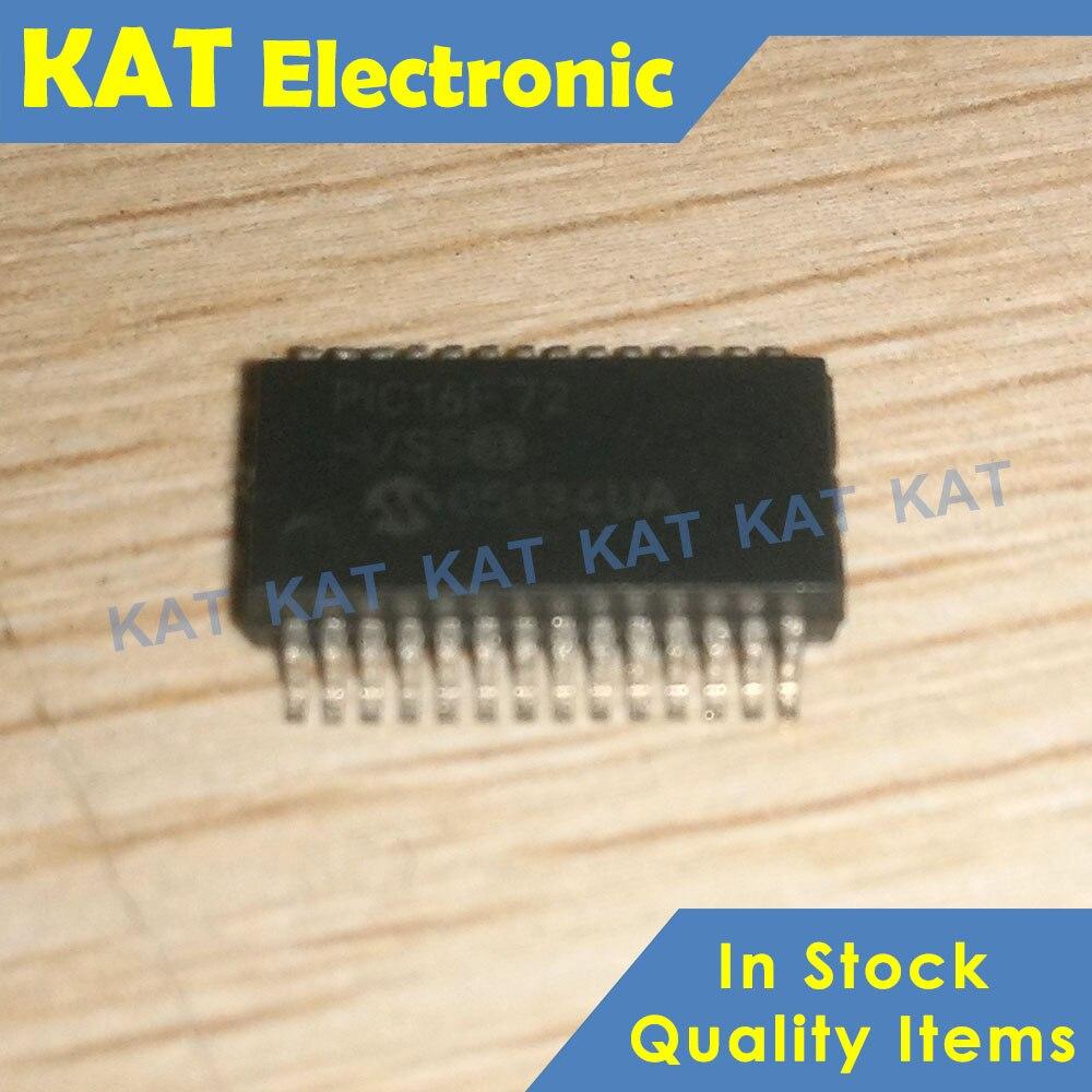 5PCS/Lot PIC16F72 PIC16F72-I/SS 28-Pin, SOP-28 8-Bit CMOS FLASH Microcontoller With A/D Converter