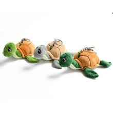 Toy Key-Chain-Ring Doll Turtle Kids Soft Cartoon Cute 16cm Send Randomly New