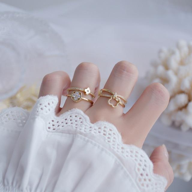 Stainless steel Resin Cat ring resin Ring Adjustable ring Cat adjustable ring. Glittery ring Ring Stainless steel ring
