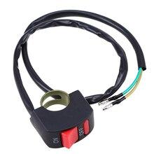 Headlight Motorcycle-Switch Waterproof Fog-Spot-Light Black 1-X