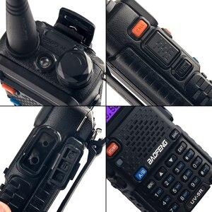 Image 4 - 4PCS Baofeng UV 5R 5W Walkie Talkie UV 5R Powerful Amateur Ham CB Radio Station UV5R Dual Band Portable Transceiver Hu