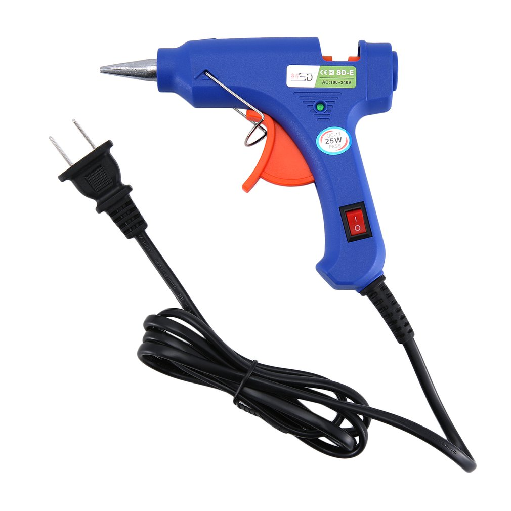 SD SD-E 25W Hot Melt Glue Gun Heat Guns For DIY Handwork Toy Repair Tools Electric Heat Temperature Glue Guns
