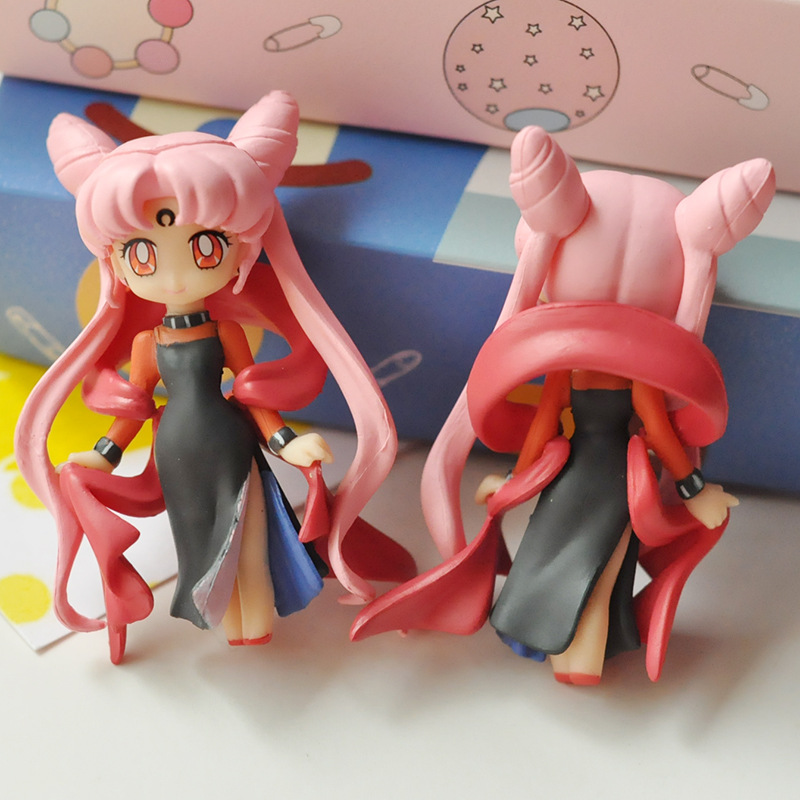 16cm Anime Sailor Moon Tsukino Anime Doll Figure Toy Doll Girl PVC Toy Doll Gift