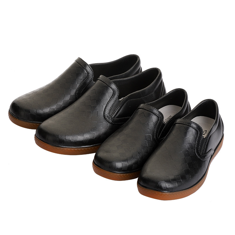 Hotel Kitchen Clogs Non-slip Chef Shoes Casual Flat Work Shoes Breathable Resistant Kitchen Cook Working Shoes Size Plus 36-43