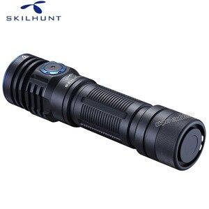 Image 4 - Skilhunt lanterna m300 xhp35, alta potência 2000 lúmens edc edição usb magnético recarregável à prova d água led