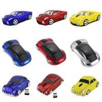 2.4G Wireless Car Mouse Lamborghini/Beetle/Porsche/Ferrari Race Car Shaped Mouse Optical Mouse for PC Desktop Laptop