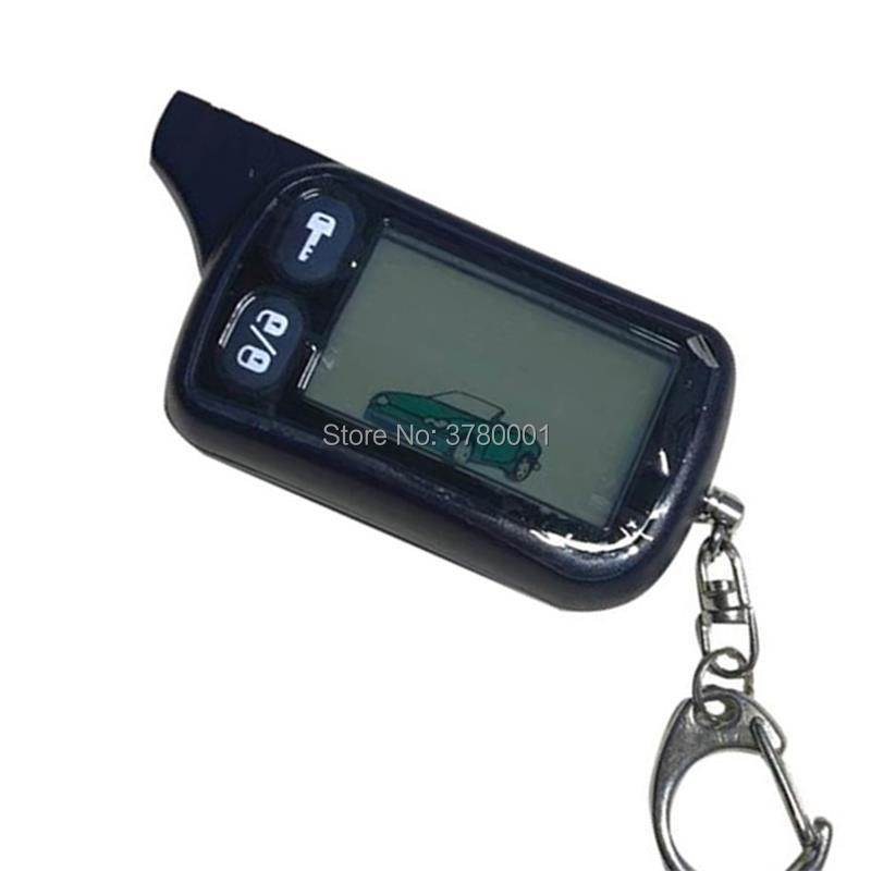 2-way TZ 9010 Remote Control Key Fob For Russian Version Tz9010 Two Way Car Alarm System Tomahawk Tz-9010