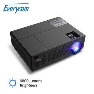 Everycom FHD лучший проектор CL770, оригинальный 1080P,6800 люмен светодиодный видеопроектор hdmi * 2 Auto Keystone 4K домашний кинотеатр lcd USB M9