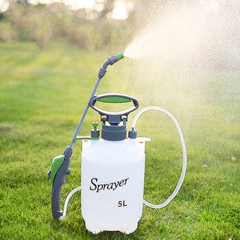 Regadera de alta presión jardín konewka 5L PP plantenspuit regador automático planta spray botella jardinería herramientas lavado de coches