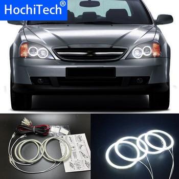 HochiTech SMD Ultra brillante LED blanco de Ojos de Ángel 2500LM 12V anillo de halo kit de iluminación DRL diurna para Chevrolet Epica Magnus 2000-2005