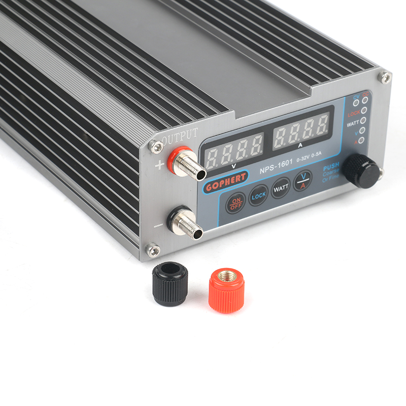 2019 NPS-1601 New Version Laboratory DIY Adjustable Digital Mini Switch DC Power Supply WATT With Lock Function 32V 30V 15V 5A-2