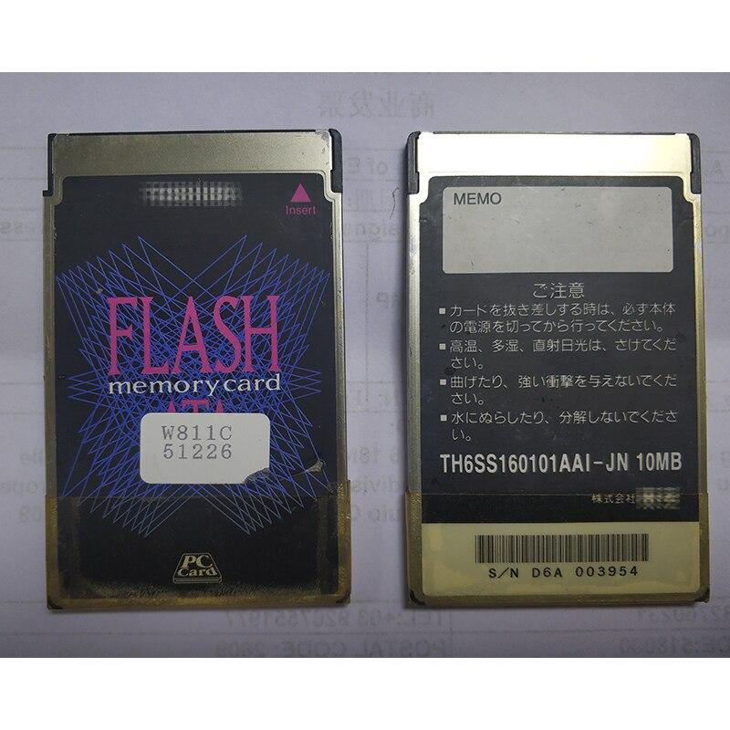 Флеш-карта памяти ATA 10 МБ, карта памяти для ПК, карта памяти для промышленного оборудования, карта ПК с 68 отверстиями PCMCIA
