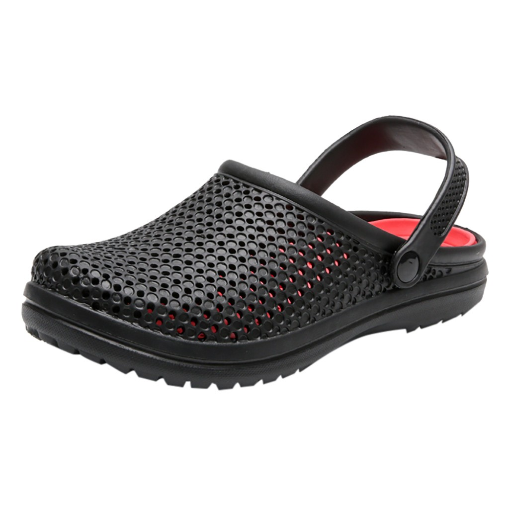 Men's Sandals Slippers Hole-Shoes Outdoor Summer Breathable Casual New -5