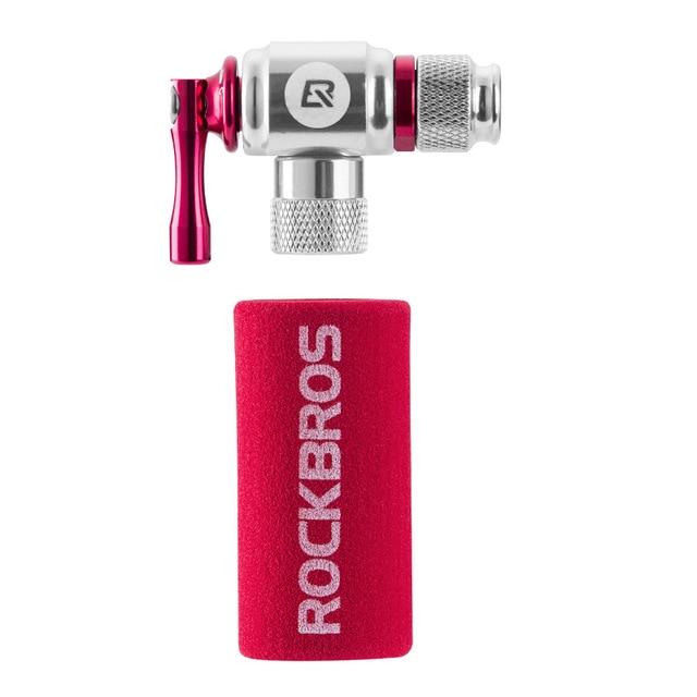 ROCKBROS велосипедный мини-насос СО2 надувной изолированный рукав воздушный велосипедный насос велосипедный шар насос велосипедные аксессуары - Цвет: PUMP2