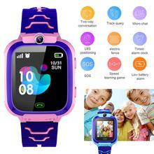 IP67 Smartwatch dla dzieci chłopcy dziewczęta prezent Smartwatch z kamera na kartę Sim Smartwatch dla dzieci zegarek na telefon SOS tanie tanio centechia CN (pochodzenie) Android Wear Android OS Na nadgarstku Wszystko kompatybilny 128 MB Przypomnienie połączeń