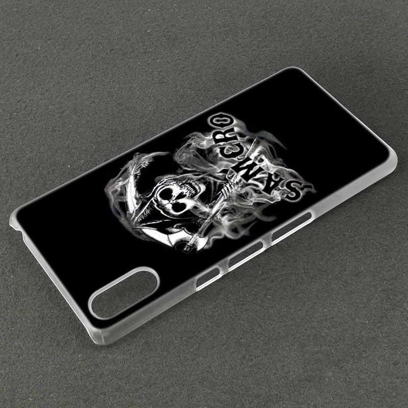 Amerykańska telewizja synowie anarchii skrzynka dla Sony Xperia X XA XA1 XA2 Ultra L1 L2 L3 E5 XZ XZ1 XZ2 kompaktowy XZ3 M4 Aqua Z3 Z5 Premium