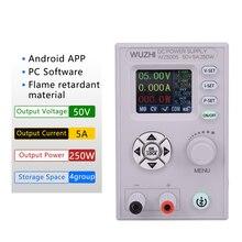 Convertisseur CC CC CC CV 50V 5A Module d'alimentation réglable réglable laboratoire alimentation Variable communication WZ5005