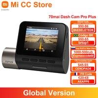 Versione globale 70mai Smart Dash Cam Pro Plus A500S DVR per auto GPS integrato 1944P coordinate di velocità videocamera di parcheggio ADAS 24H