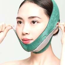 Бытовой артефакт для подтяжки лица тонкая маска с двойным подбородком