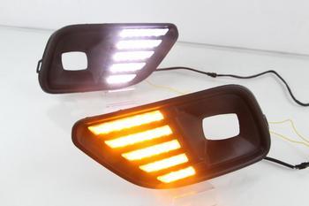car bumper headlight for Jeep cherokee fog light 2019~2020y LED Daytime running light Headlamp for jeep cherokee fog lamp