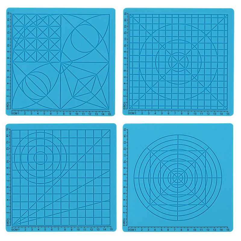 Silicone Mat 3D Pen Accessory Children Drawing Board Template Kids Educational Tools