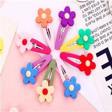 Заколки для волос с цветами девочек шпильки карамельных цветов