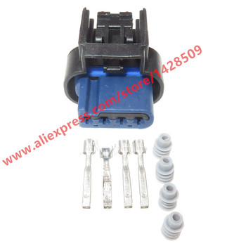20 Sets 4 Pin Auto Sensor Waterproof Plug Female Car Wire Cable Connector WPT-1309 CU2Z-14S411-AYA