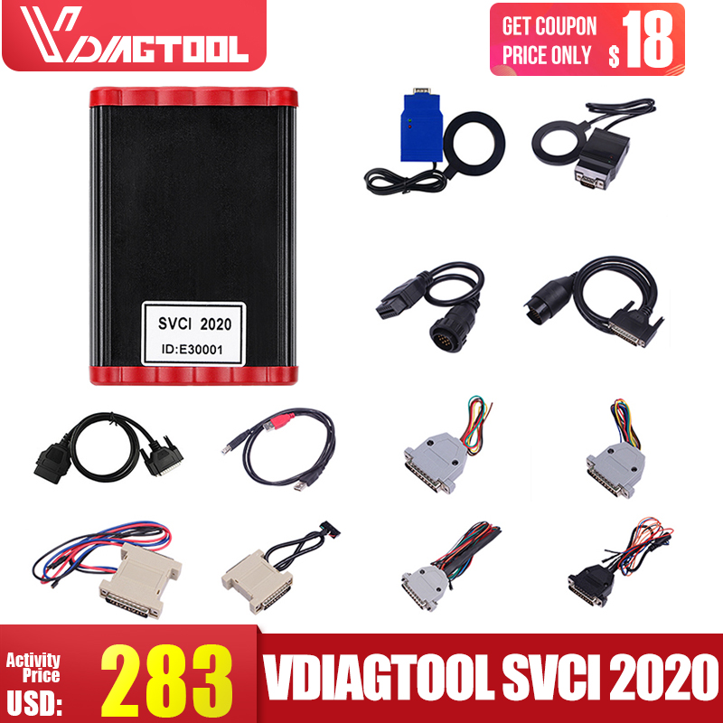 VDIAGTOOL FVDI2020 couverture FVDI V2014 V2015 V2018 Version complète pas limitée Fvdi Abrite Commander 21 logiciel SVCI2019 mise à jour en ligne
