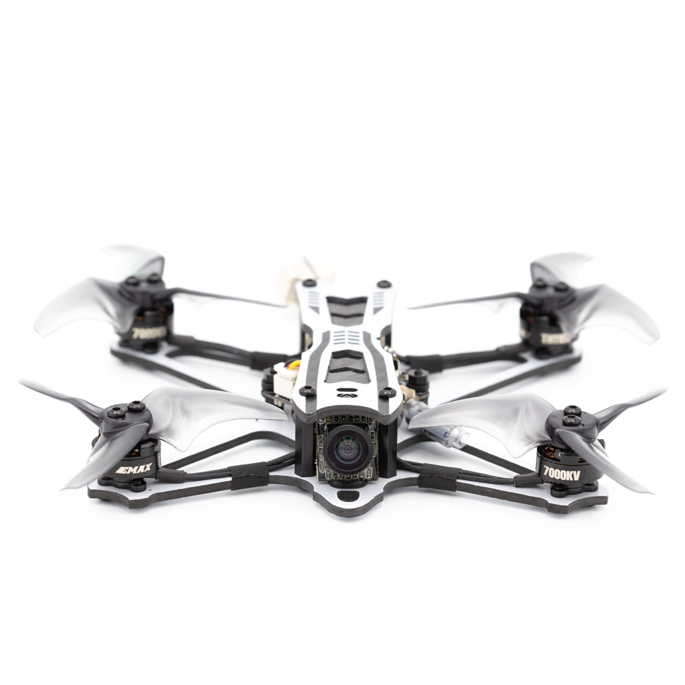 New EMAX FPV Brushless Racing Drone With Aerospace Grade Carbon Fiber Freestyle RC Quadcopter BNF Version Toy for Beginners