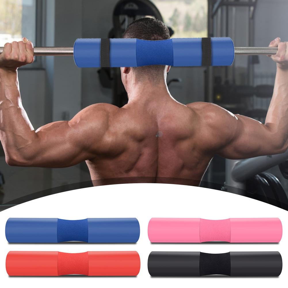 Накладка для штанги для тренажерного зала, тяжелой атлетики, мягкая подушка для поддержки плеч, спины, шеи, плеч, защитная накладка для подде...