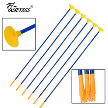 10/20pcs 23 Archery Sucker Arrow Children Game Safety Rubber Suction Cup Arrows Fit Teens Shooting Training Accessories