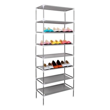 Non-Woven Fabric Dustproof Shoe Rack Storage Organizer Cover Cabinet Shelf Cabinet Assembled Multiple Layers Shoe Organizer