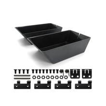 2011-5 RC Bait Boat Spare Parts Accessories Upgraded Double Silo Accessories for Flytec 2011-5 Bait Boat,Black
