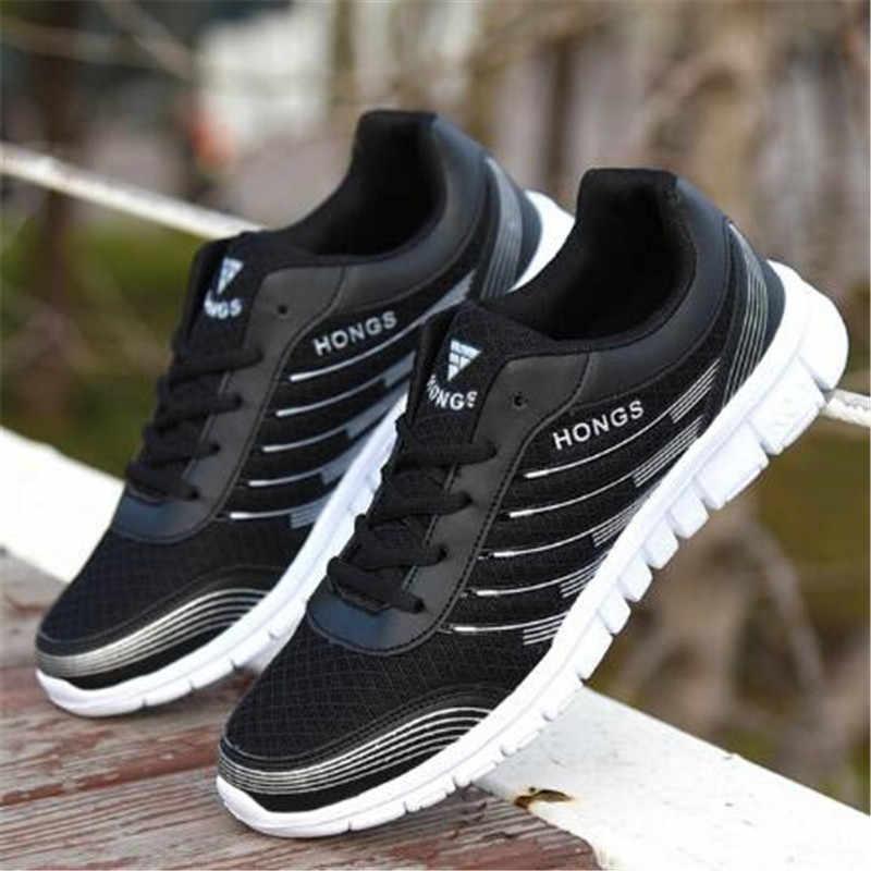 Áo Size 39-45 Nam Giới Trưởng Thành Giày Mùa Hè Thoáng Khí Krasovki Giày Siêu Sáng Giày Nam Tenis Masculino giày Sneakers