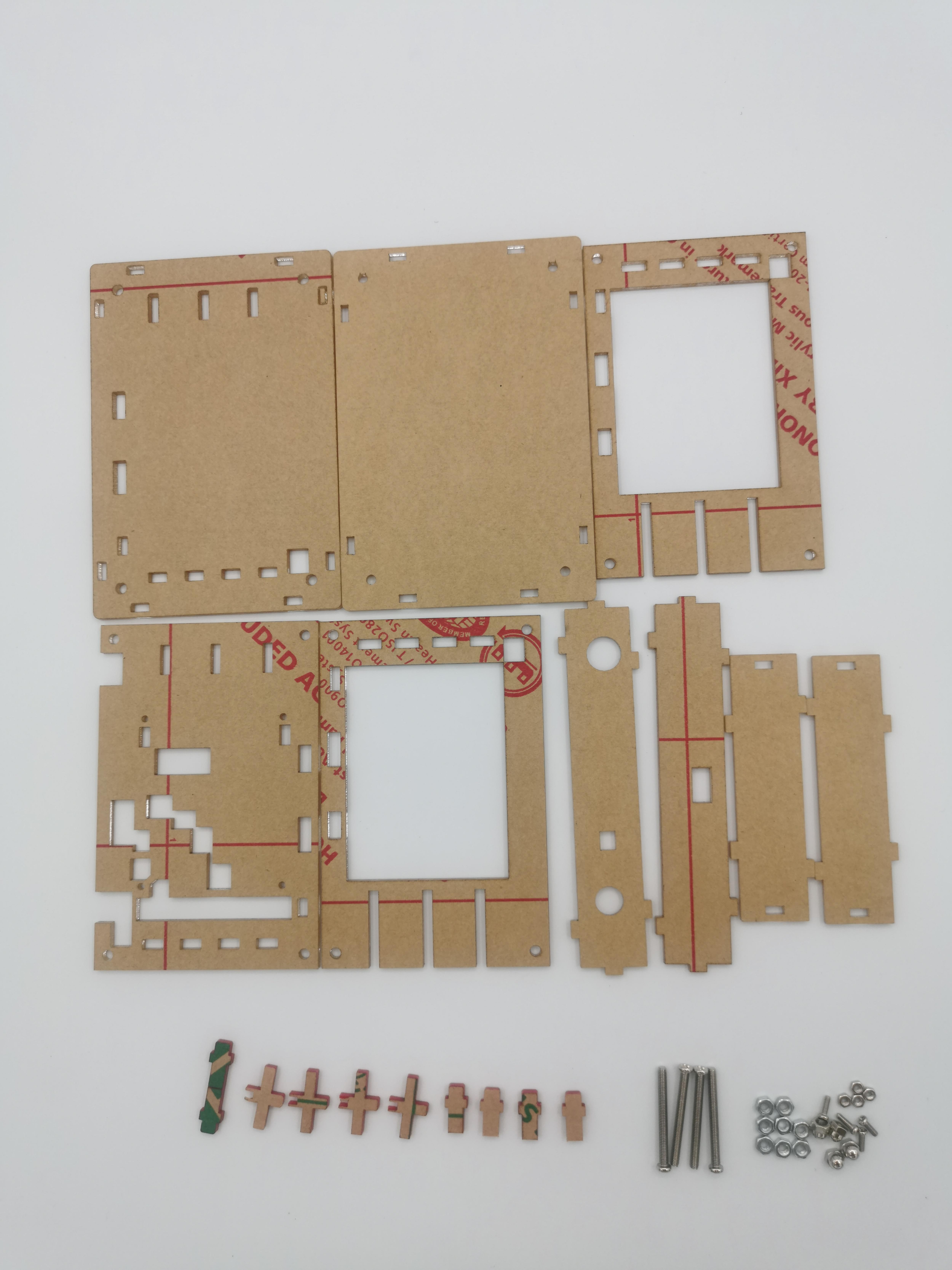 DSO138 цифровой осциллограф Набор DIY обучения карманный размер DSO138 обновление акриловый защитный чехол