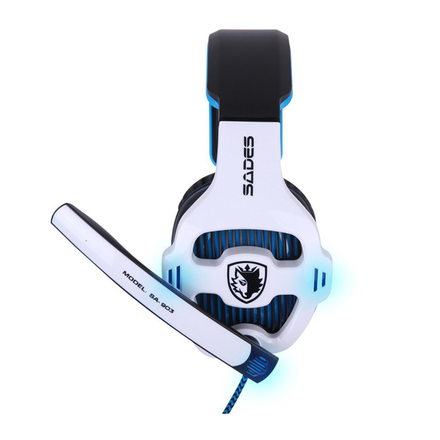 SADES SA-903 Gaming Headset 7.1 Surround Sound channel USB Wired Headphone with Mic Volume Control Best casque for Gamer 4