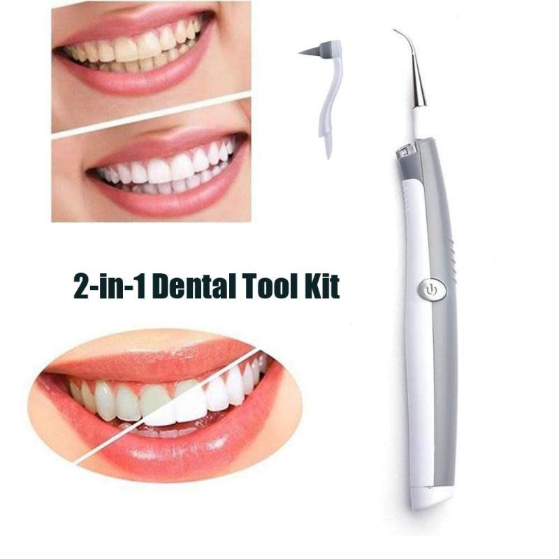Whitening-Cleaner-Kit Power-Floss Teeth-Care-Tool Water-Jet Portable Tooth-Pick No-Batteries